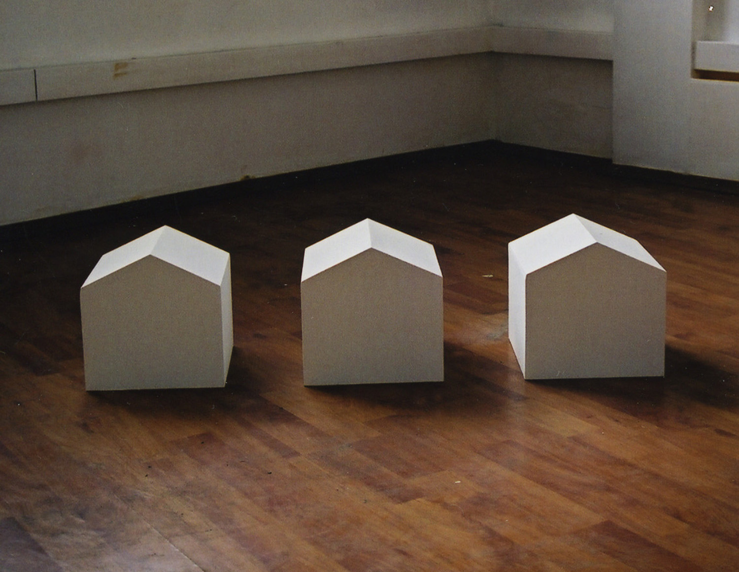 house home  ︱  plaster, MDF  ︱  dimension variable